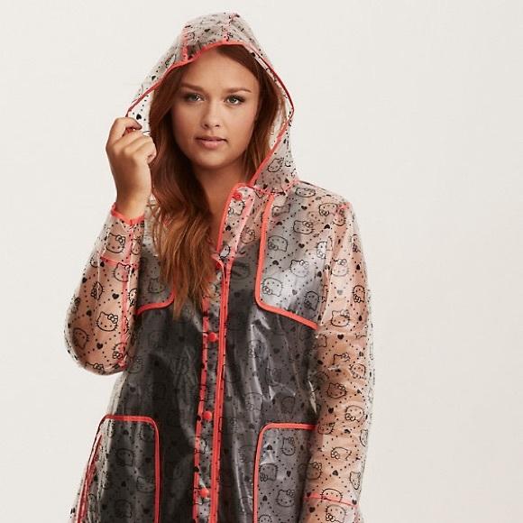b508a8f4ad48a Host Pick!! 💕🛍Torrid Hello Kitty Raincoat